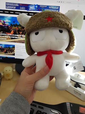 muñeco de Xiaomi Mitu