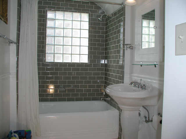 Not Using Tiles Bathroom Ideas: Condo Renovations: September 2011