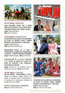 Feria de Primavera y Fiesta del Vino Fino de El Puerto de Santa María 2016 - Programa 02