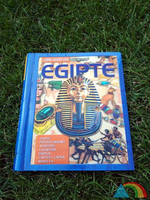 Portada del libro Egipto, libro-aventura de la editorial Susaeta