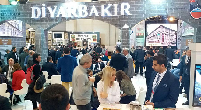 EMİTT fuarı Diyarbakır'a kapılarını açtı