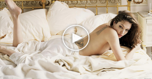 Angelina Jolie Hot Video Revealed part1 - Rihanna Collection Videos