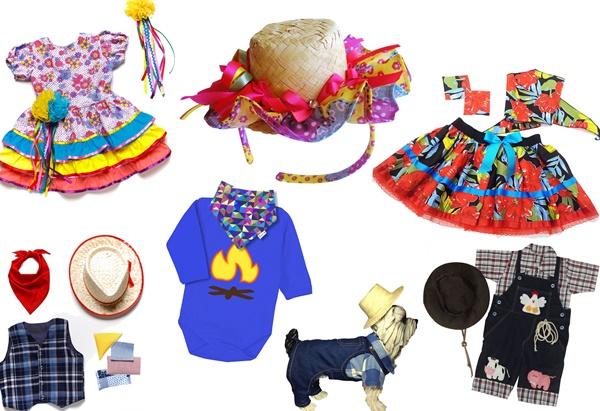 Festa Junina, Datas Comemorativas, Escola, Fantasias, Vestidos, Junho, Davi, Cecília, Cléo Moretti,