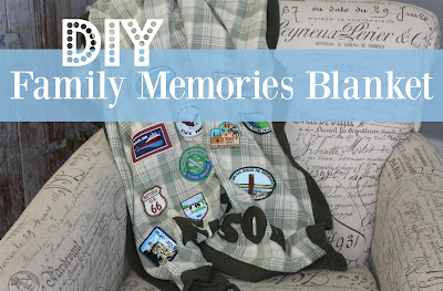 DIY Family Memories Blanket