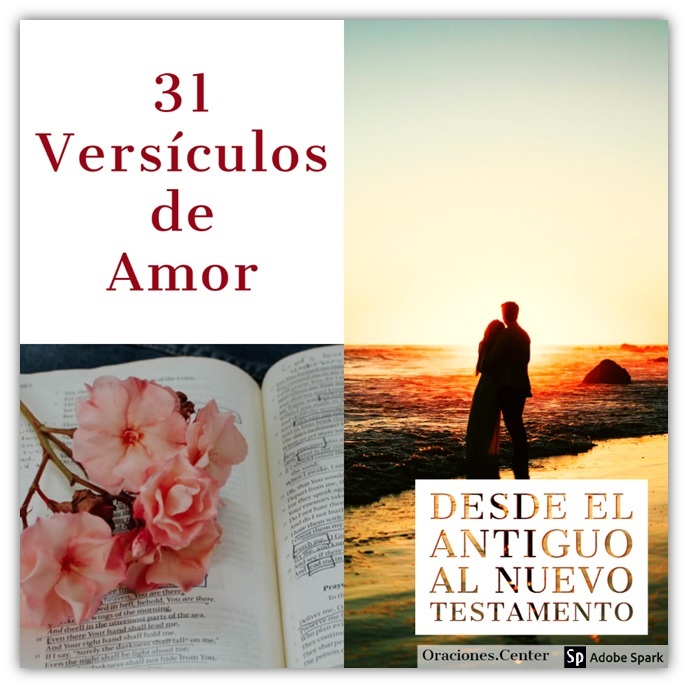 31 Versículos Cristianos de Amor de Pareja