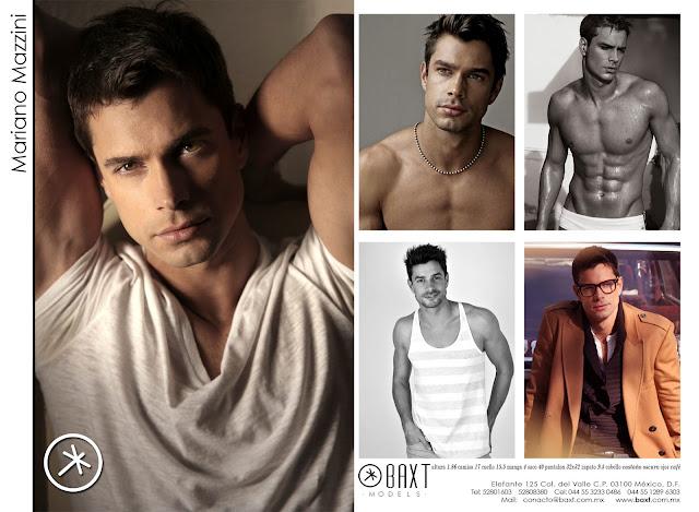 como hacer un composite profesional para modelos masculinos