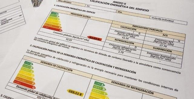 entrega del certificado energético en torremolinos