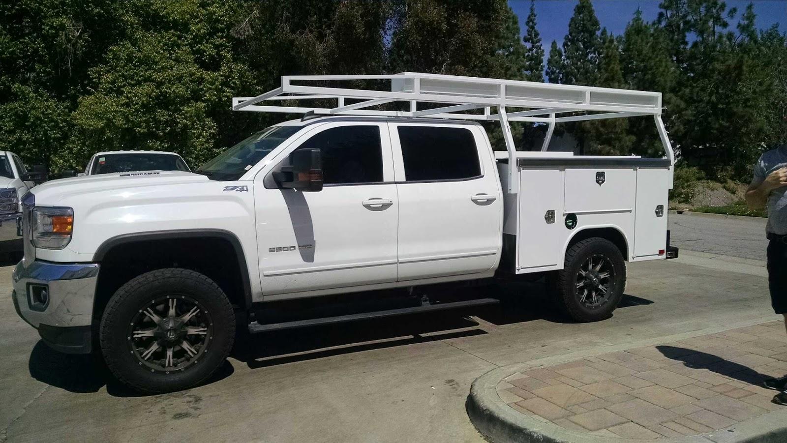 Service Body Racks : Harbor truck bodies service body and rack