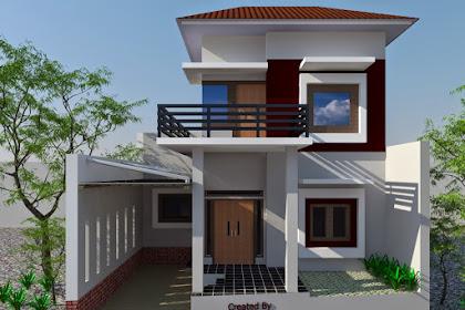 63 Desain Rumah Minimalis 2 Lantai Dan Harganya Terbaru 2019