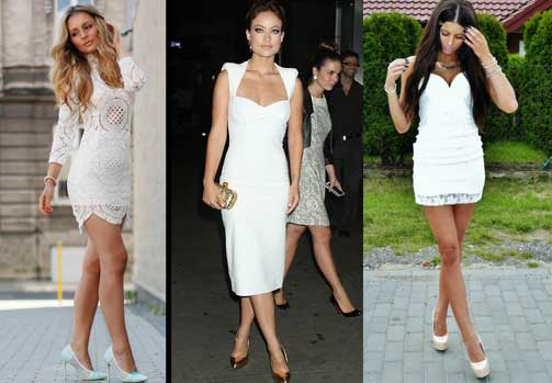 vestido blanco en la moda