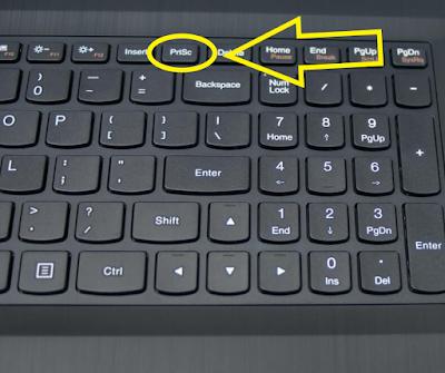 Cara Screenshot di Laptop ASUS Paling Mudah Dan Semua Orang Bisa