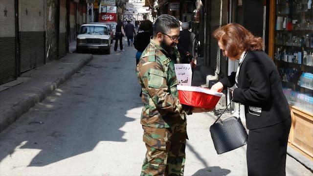 Cristianos sirios celebran la Pascua y desean la paz para su país