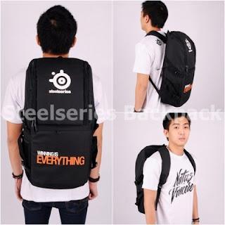 Gaming Bag - Tas Gaming ELITE Backpack - Steelseries