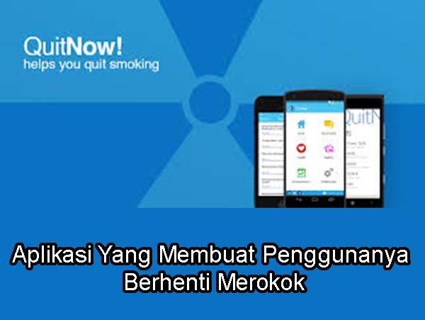 Berikut Aplikasi Yang Membuat Kalian Untuk Berhenti Merokok