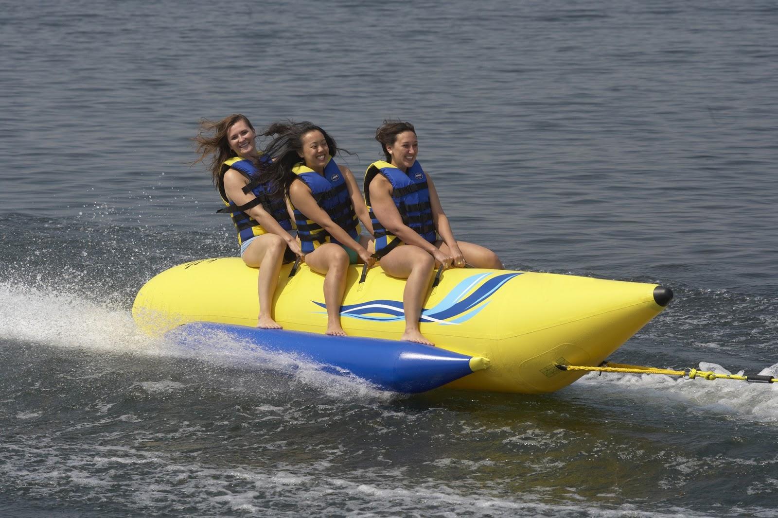 езда на надувных лодках видео