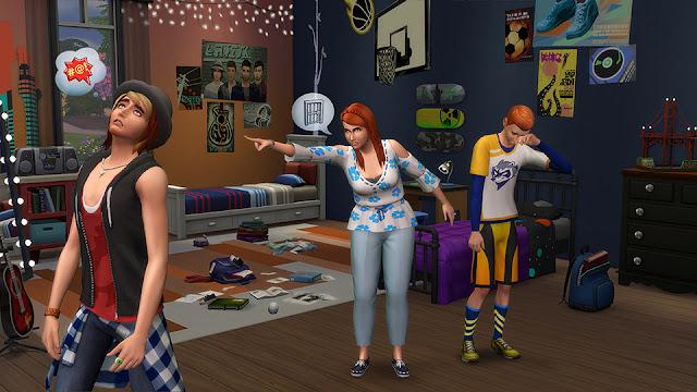 El reto de ser padres con el Pack de los Sims 4 Papás y Mamás Pack de Contenido