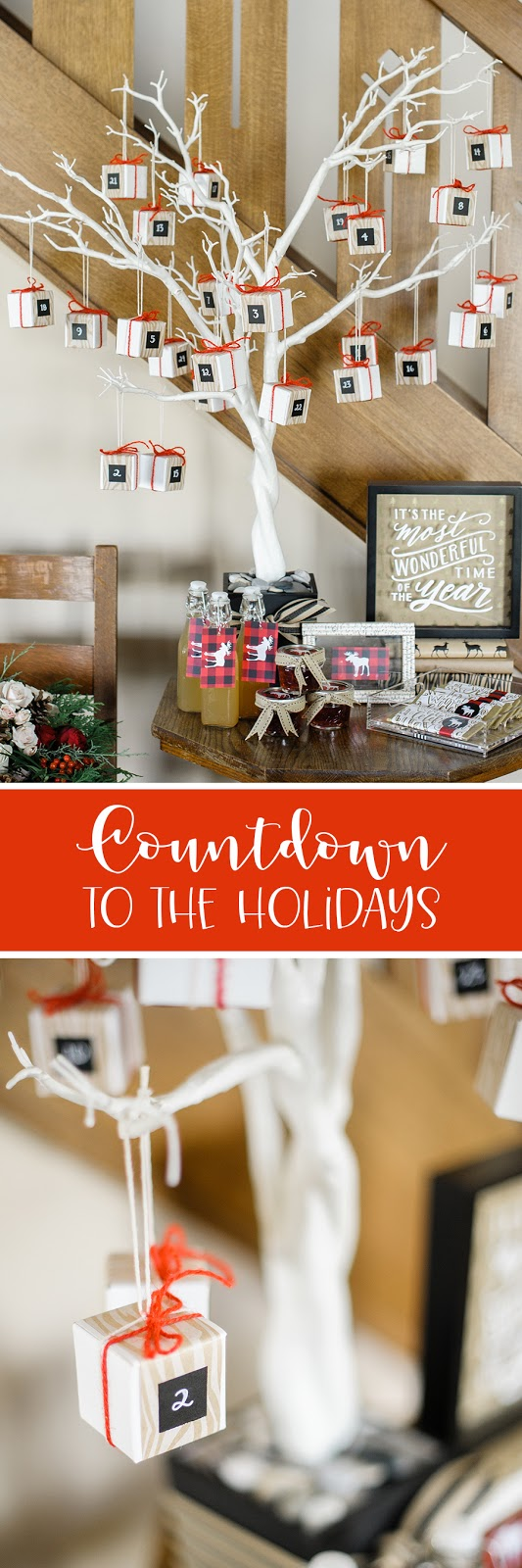 count down to the holidays inspiration from Creative Bag