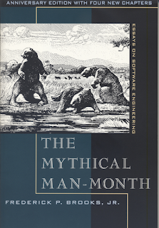 Cover for The Mythical Man-Month 20th Anniversary Edition