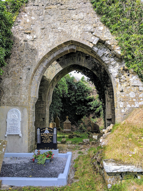 An arch at the ruins of Sligo's Court Abbey