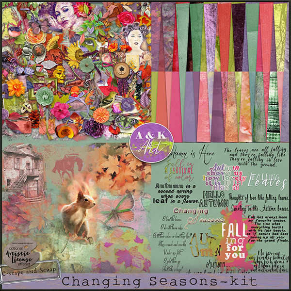 Changing Seasons AK Art