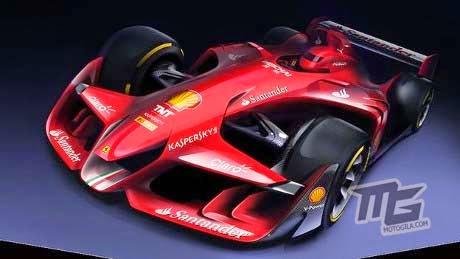 konsep Mobil Balap F1 Untuk Masa Depan