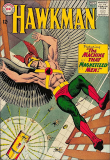 cover of Hawkman #4 (1964). Property of DC comics.