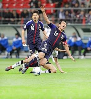 サッカー日本代表対ウズベキスタン