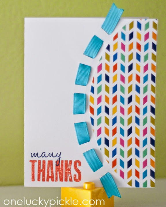 One Lucky Pickle: Many Thanks Card