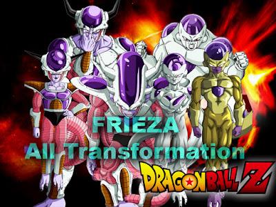 Frieza All Transformation