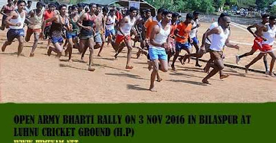 OPEN RALLY ON 3 NOV 2016 AT BILASPUR