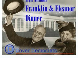 11th Annual Franklin & Eleanor Dinner- April 14th, 6PM, The Hellenic Center
