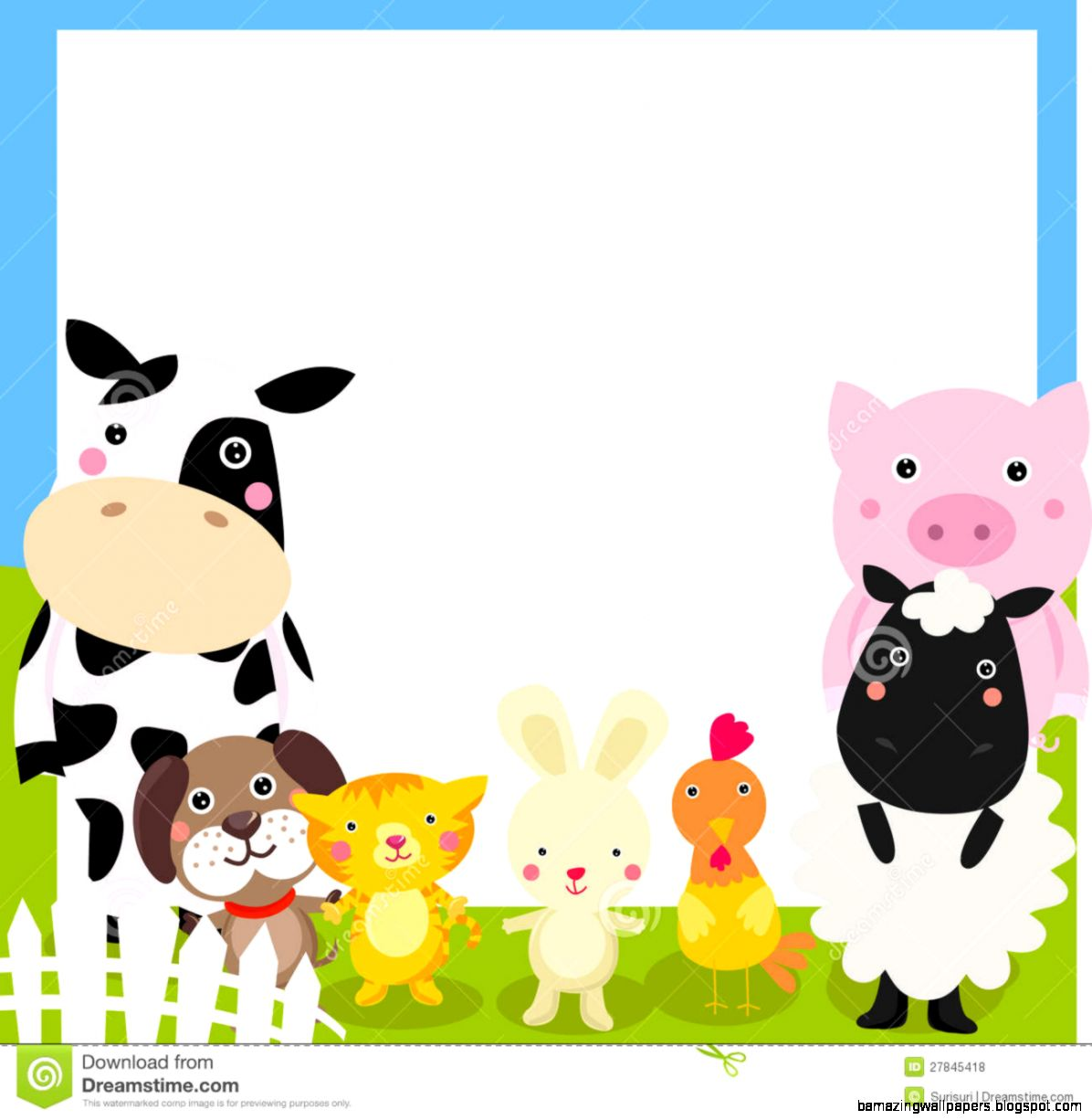 clipart pictures farm animals - photo #43