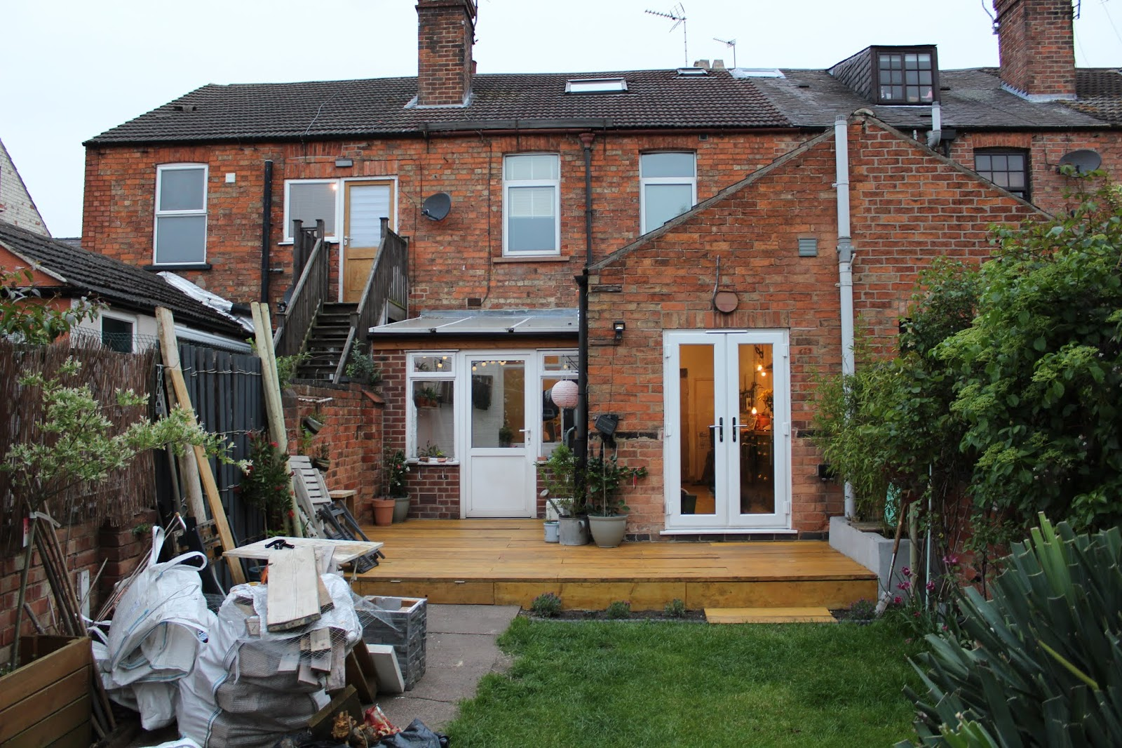 Scaffold Decking Victorian House
