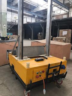 Робот штукатур – лучший помощник современного строителя