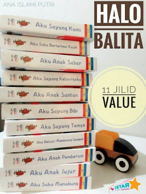 Halo Balita Buku Bacaan Berkualitas Untuk Anak Sejak Usia Dini