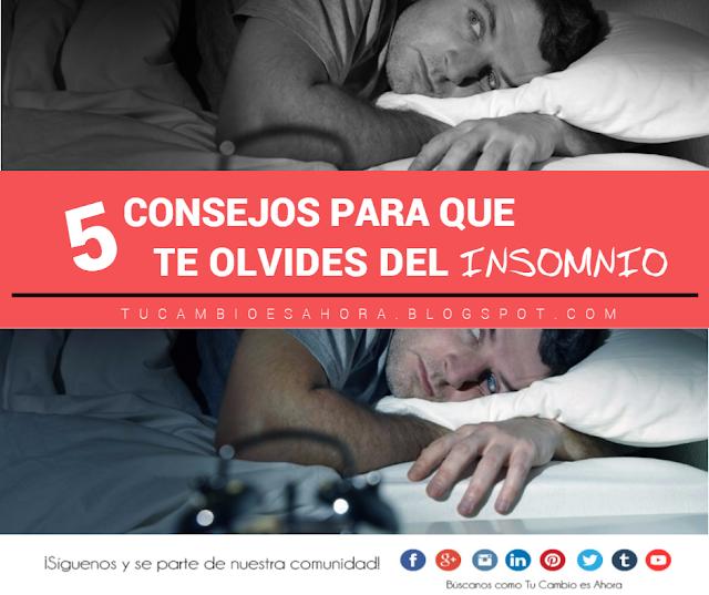 consejos para vencer el insomnio