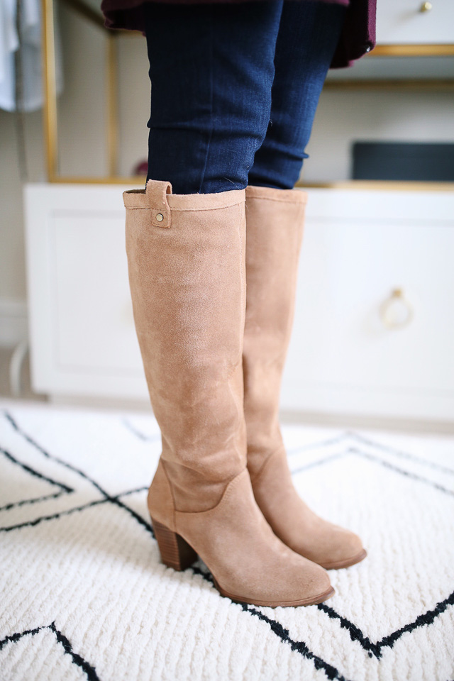 UGG boots in chestnut suede from the #NSALE