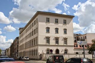 Mendelssohn-Haus in der Goldschmidtstraße