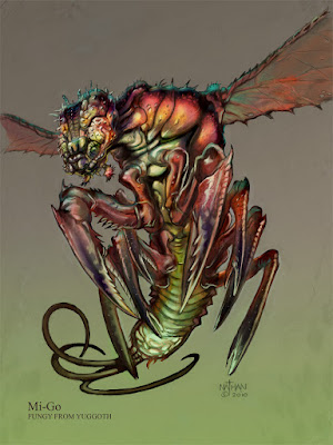 Art from: http://nathanrosario.deviantart.com/art/Mi-Go-Concept-5-187231557