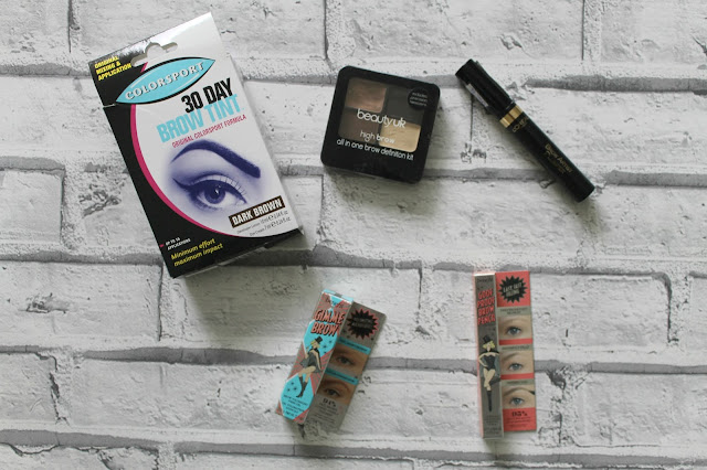 My Brow Routine featuring Benefit and L'Oreal, Eyebrows, Benefit, Benefit Cosmetics, Colorsport, 30 Day Brow Tint, L'Oreal, BeautyUK, Gimme Brow, Goof Proof, Makeup, Makeup Routine