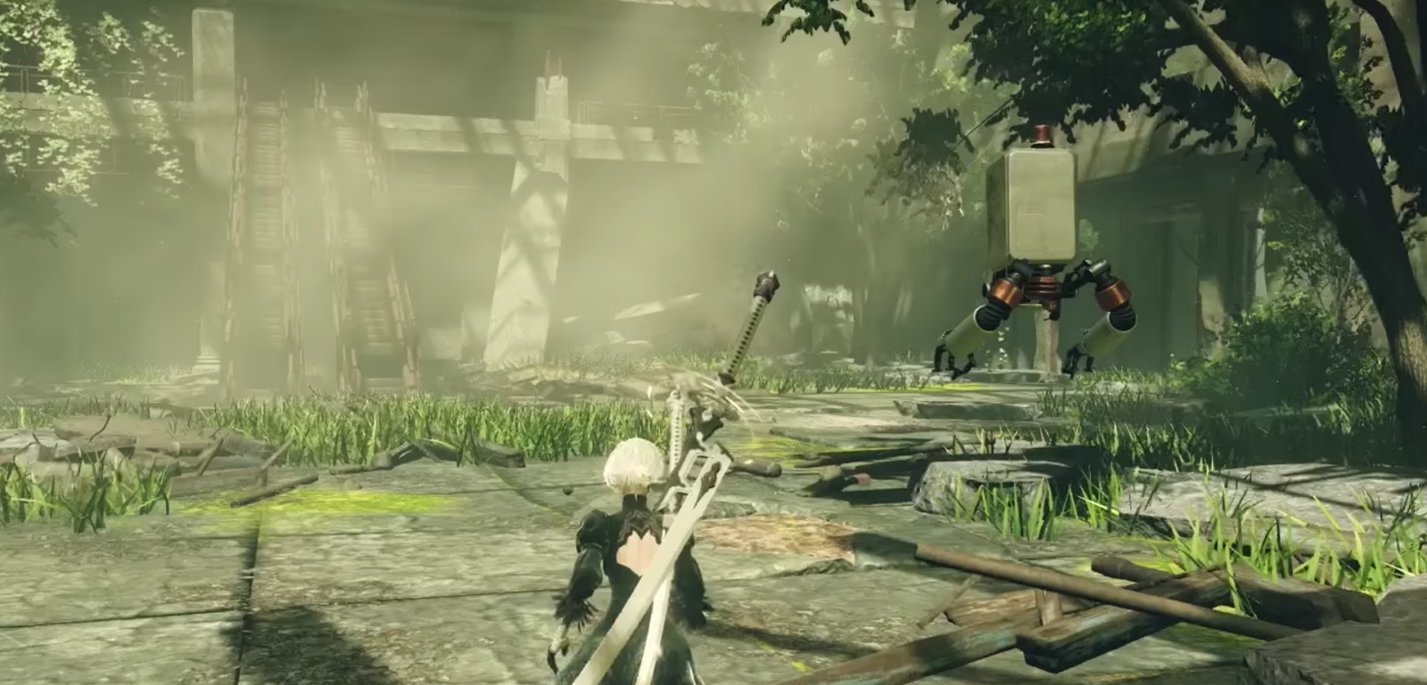 Ya disponible NieR Automata en PS4