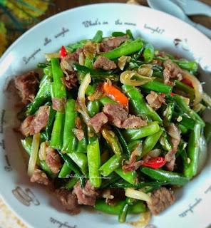 Ide Resep Masak Sayur Cah Buncis Daging Sapi