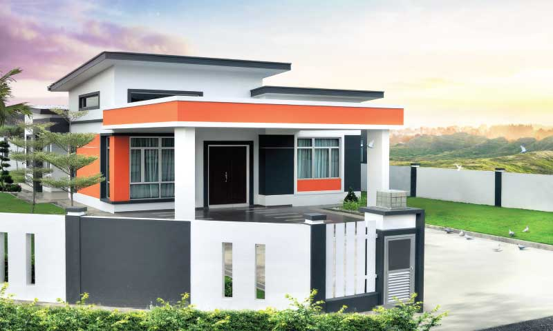 NEW DEVELOPMENT, BUNGALOW at TAMAN SEROM PERDANA, KANGKAR
