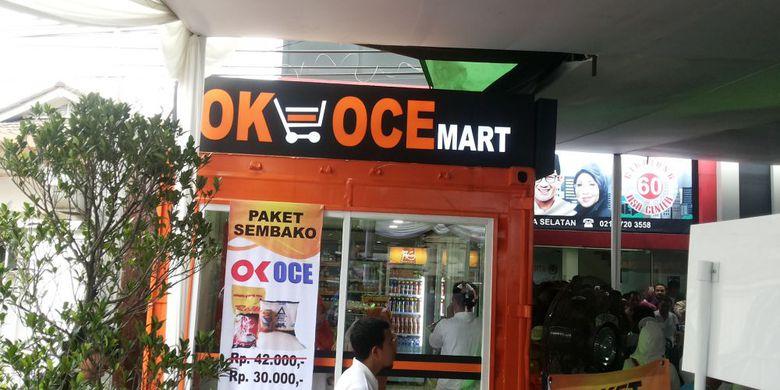 Mantap Sandiaga Resmikan OK-OCE Mart Pertama di Jakarta