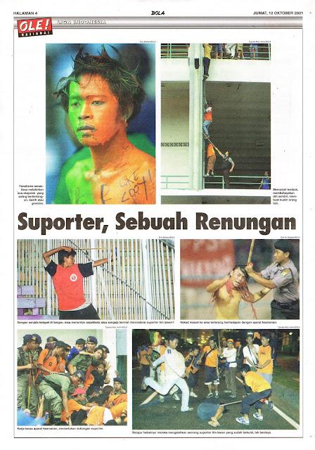 SUPORTER, SEBUAH RENUNGAN