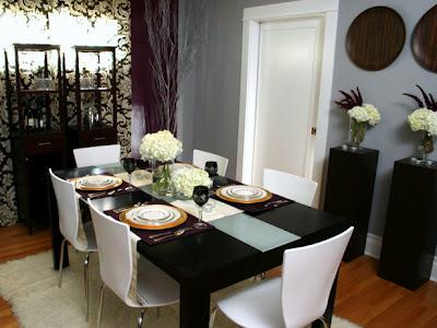 uang online: tips dekorasi ruang makan minimalis
