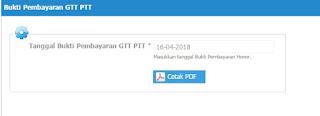 Cara Mencetak Bukti Penerimaan GTT dan PTT Dari Sumber Pembiayaan APBD Provinsi Jawa Tengah - Mazzajie
