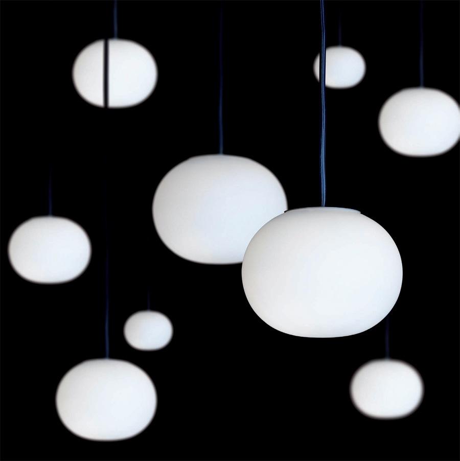 glo ball lights from flos. Black Bedroom Furniture Sets. Home Design Ideas