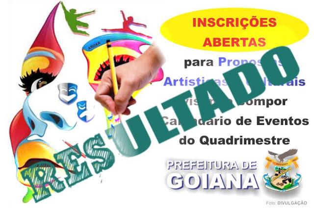 Confira a lista dos habilitados para as festividades de Goiana-PE