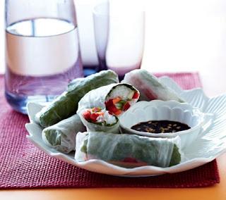 Fresh Rice Paper Rolls Recipe